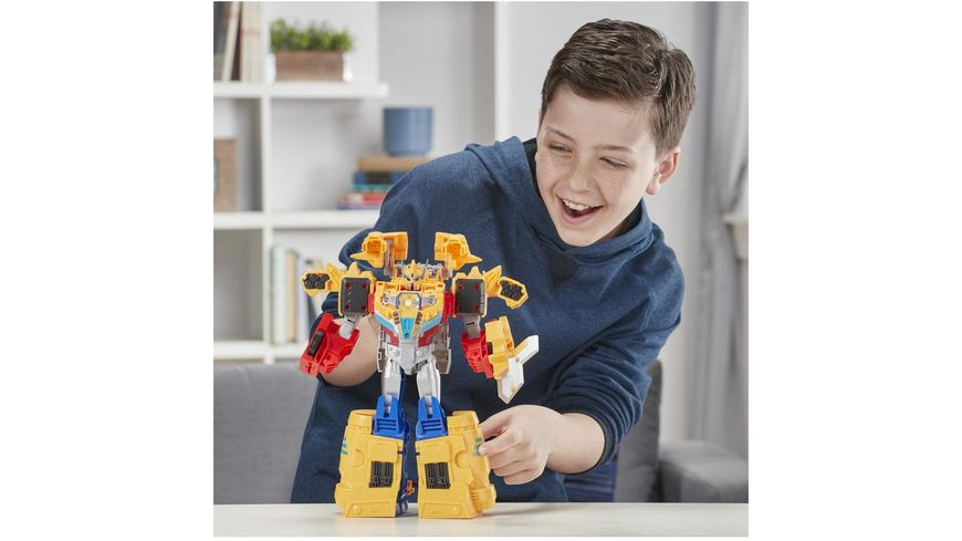 Hasbro Transformers Cyberverse Ark Power Optimus Prime