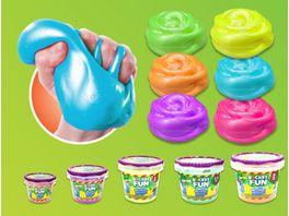 Slimy Bucket Fun Metallic Slimy 1 kg farblich sortiert