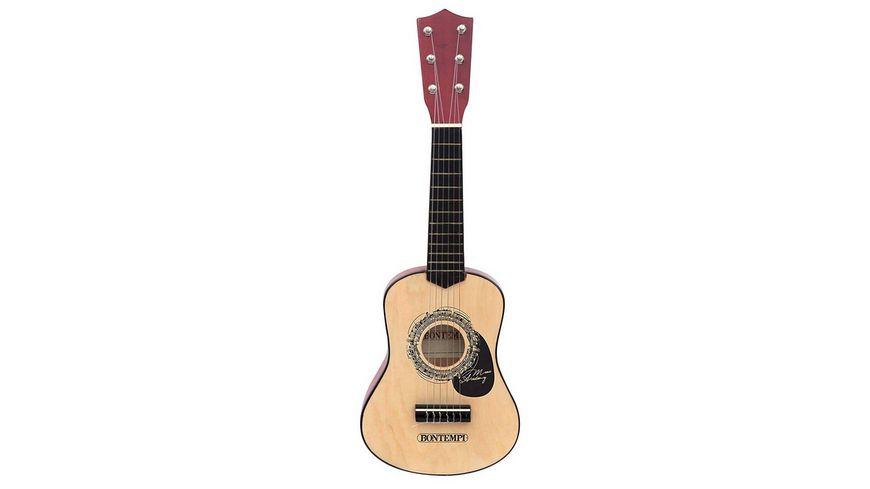 Bontempi Holzgitarre klassisch