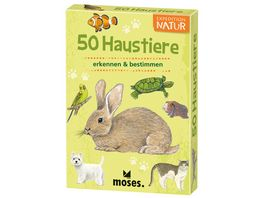 moses Expedition Natur 50 Haustiere