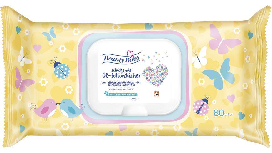 Beauty Baby Oeltuecher Pop up Deckel