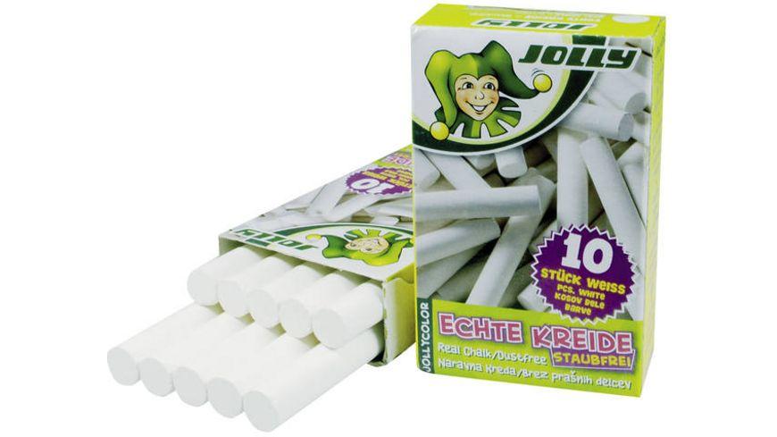 Weiße Kreide für Schultafel 10er Pack Lack