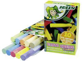 Jollycolor Kreide 10er Pack farbig