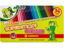 JOLLY Supersticks kinderfest CLASSIC 36er Metalletui