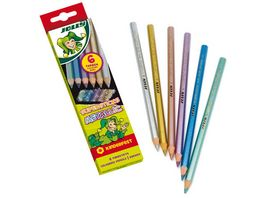 JOLLY Supersticks kinderfest METALLIC 6er Kartonetui