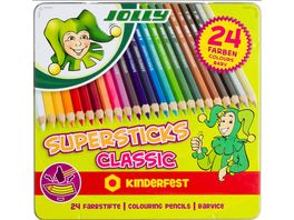 JOLLY Supersticks kinderfest CLASSIC 24er Metalletui