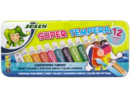 JOLLY Super Tempera 12er Metalletui