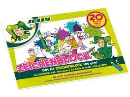 JOLLY Zeichenblock DIN A4 20 Blatt