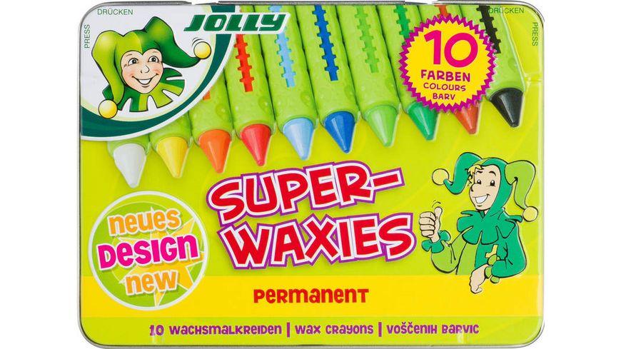 JOLLY Superwaxies Classic 10er Metalletui