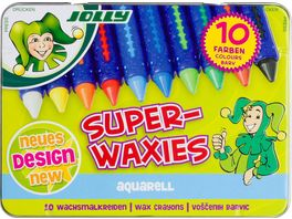 JOLLY Superwaxies AQUA 10er Metalletui