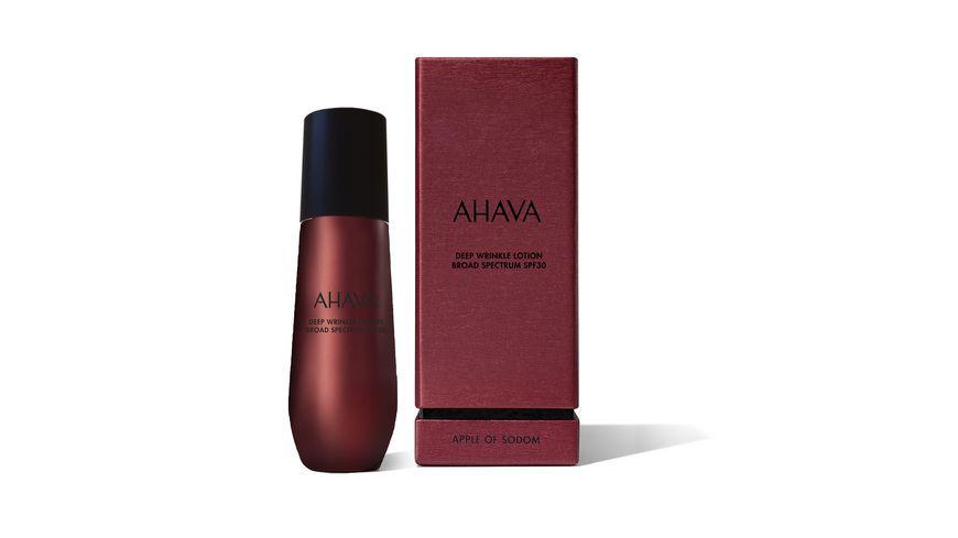 AHAVA Apple of Sodom Deep Wrinkle Lotion SPF 30