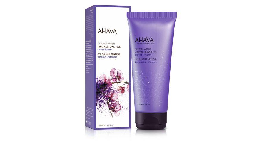 AHAVA Mineral Shower Gel Spring Blossom