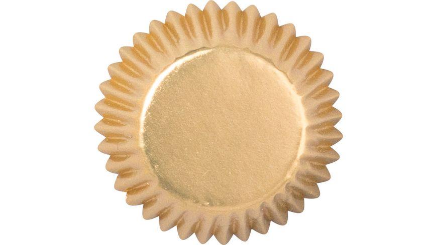 Demmler Muffinförmchen Sterne Gold 40 Stk.
