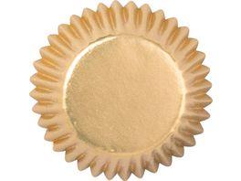 Demmler Muffinfoermchen Sterne Gold 40 Stk