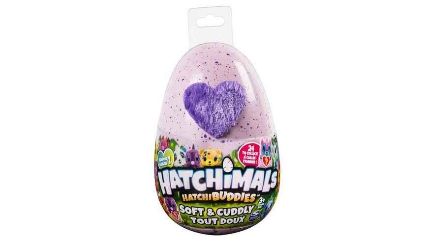 Spin Master Hatchimals HatchiBuddies 15 cm grosse Plueschfigur mit Ei