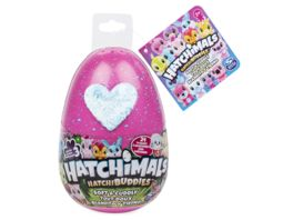 Spin Master Hatchimals HatchiBuddies 15 cm grosse Plueschfigur mit Ei