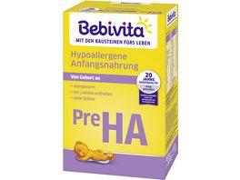 Bebivita Pre Hypoallergene Anfangsnahrung