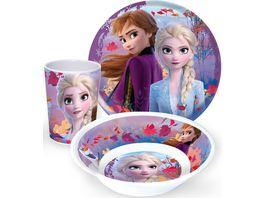 p os Frozen 2 3tlg Fruehstuecks Set