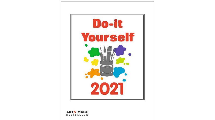 TE NEUES Bastelkalender Do It Yourself 2020 weiss