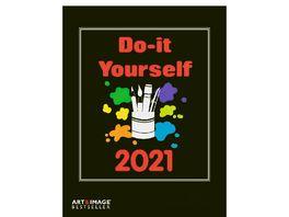TE NEUES Bastelkalender Do It Yourself 2020 schwarz