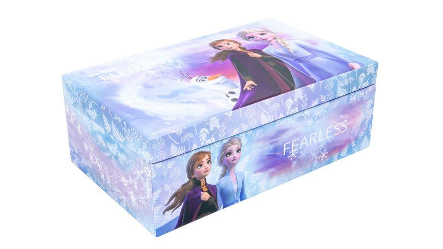 Joy Toy - Frozen 2 Schmuckschatulle mit Bürste, 2 Haarspangen, Armband und Haargummi
