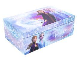 Joy Toy Frozen 2 Schmuckschatulle mit Buerste 2 Haarspangen Armband und Haargummi