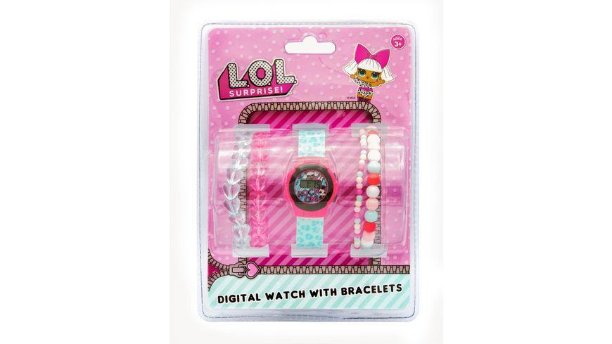 Joy Toy LOL LCD Uhr 4 Armbaendern