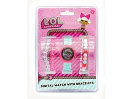 Joy Toy LOL LCD Uhr 4 Armbaendern