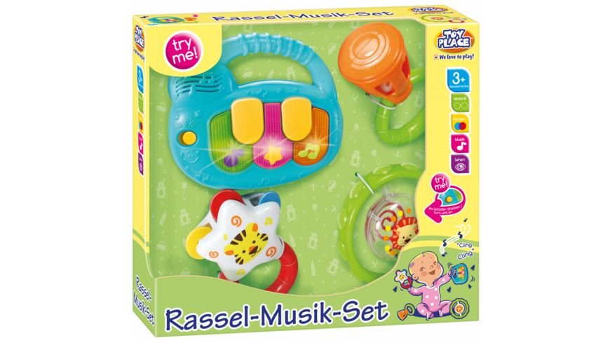 Mueller Toy Place Rassel Musik Set