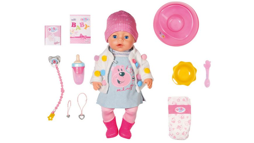 Zapf Creation BABY born Soft Touch Candy Girl