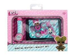Joy Toy LOL LCD Uhr mit Brieftasche