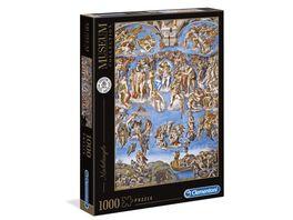 Clementoni Michelangelo 1000 teile Das juengste Gericht