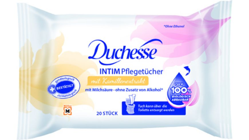 Duchesse Intimpflege Tuecher 20 Stueck
