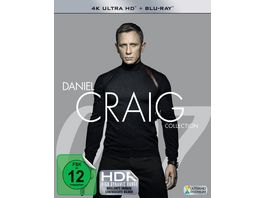 Daniel Craig Collection 4 4K Ultra HD 4 Blu ray 2D