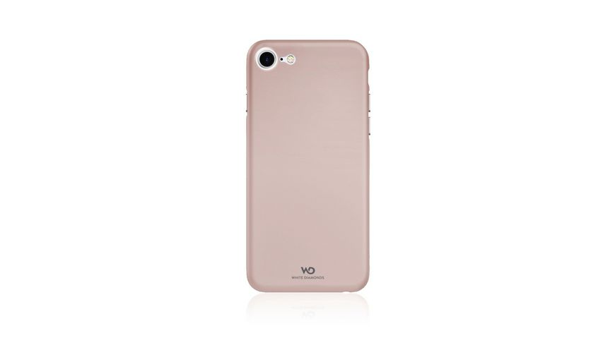 Cover Ultra Thin Iced fuer Apple iPhone 7 8 Rosegold