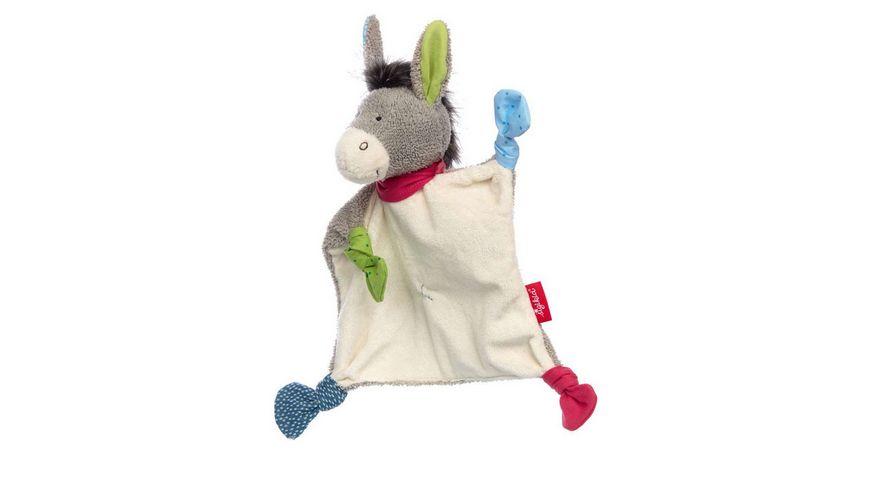 sigikid - Schnuffeltuch Esel Debby Dumb 25 cm