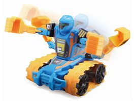 Maisto Tech Robo Fighter Blau Orange