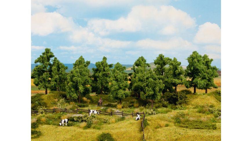 NOCH 24600 - Laubbäume 8 Stück, 10 - 14 cm hoch