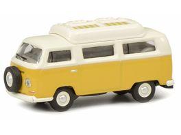Schuco Edition 1 87 VW T2a Camping Bus mit geschlossenem Dach gelb weiss