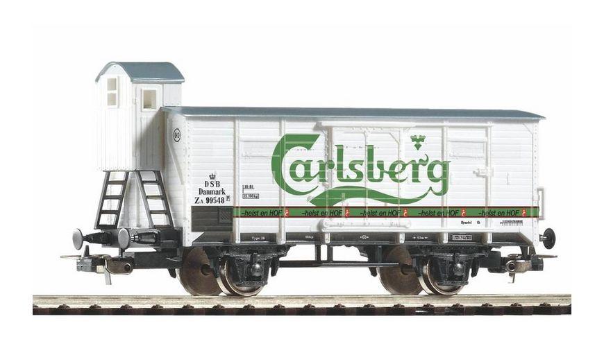PIKO 58934 Gedeckter Gueterwagen Tuborg Carlsberg DSB