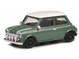 Schuco Edition 1 87 Mini Cooper gruen weiss