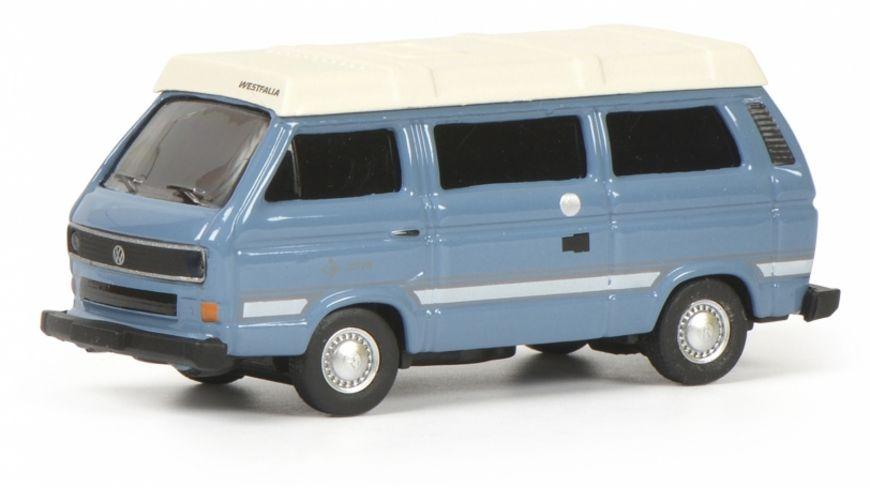 Schuco Edition 1 87 VW T3b Joker Camping Bus blau