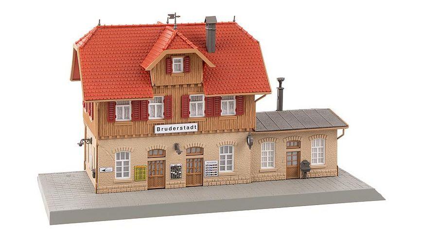 Faller 190072 H0 Aktions Set Bahnhof Bruderstadt