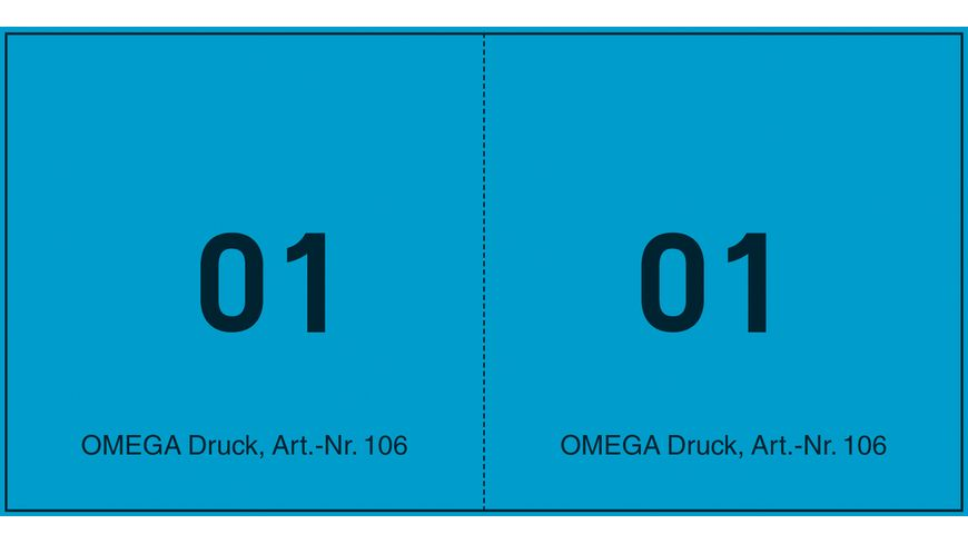 OMEGA Juxten Bonblocks 106 4 10x5cm blau