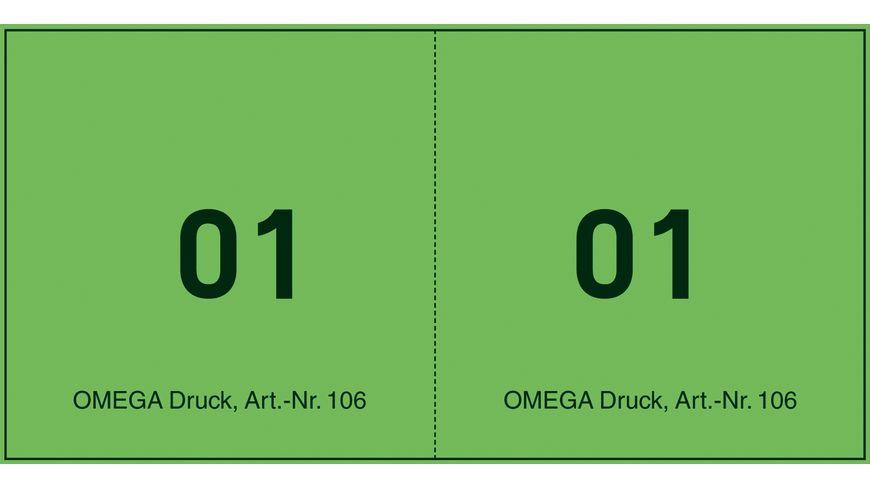 OMEGA Juxten/Bonblocks 106/3 10x5cm grün
