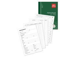 OMEGA Fahrtenbuch 831 A5 hoch 1x50 Blatt