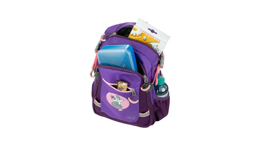 SCHNEIDERS Cat Kids Backpack Violet
