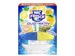 WC FRISCH Duo Aktiv Duftspueler fluessig Mediterrane Zitrone
