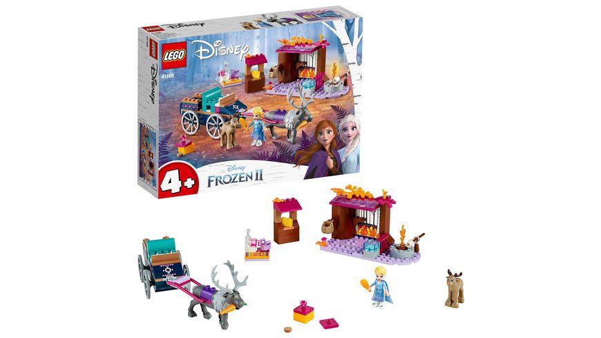 LEGO Disney Frozen II - 41166 Elsa und die Rentierkutsche