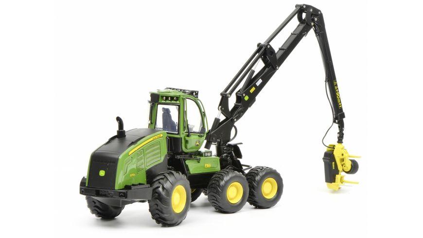 Schuco Edition 1 32 John Deere Harvester 1270G 6W gruen